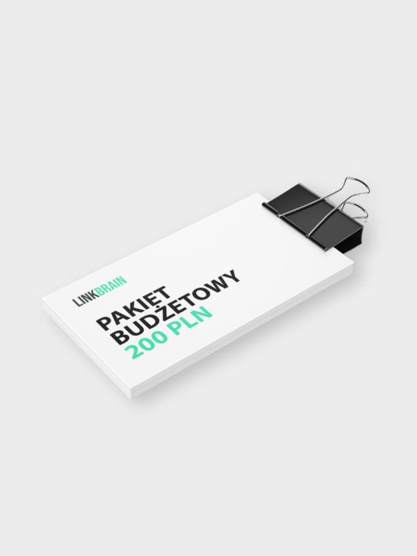 pakiet budżetowy 200PLN