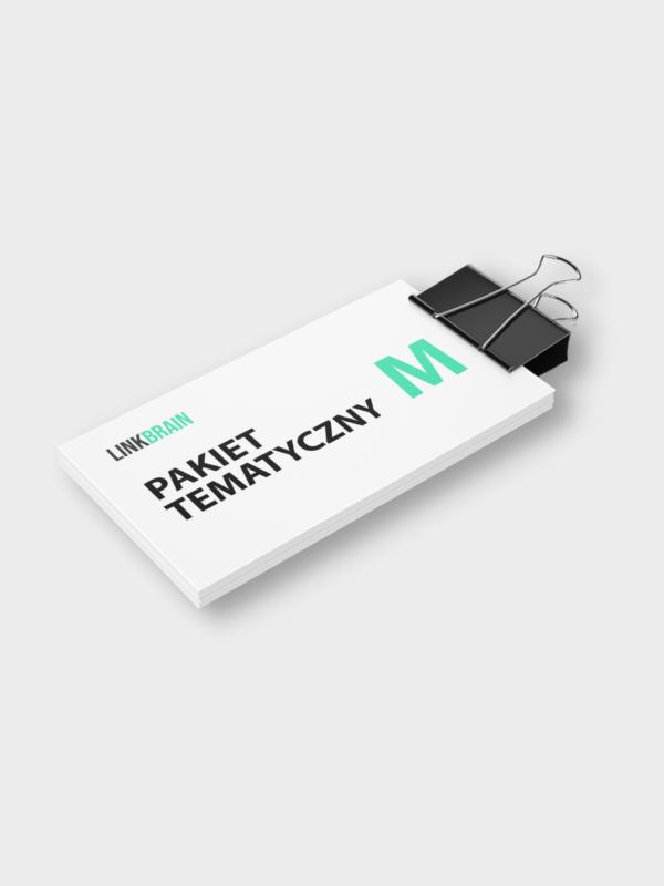 pakiet tematyczny M